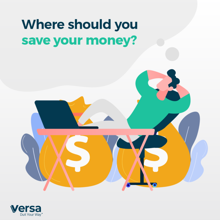 Where should you save your money?