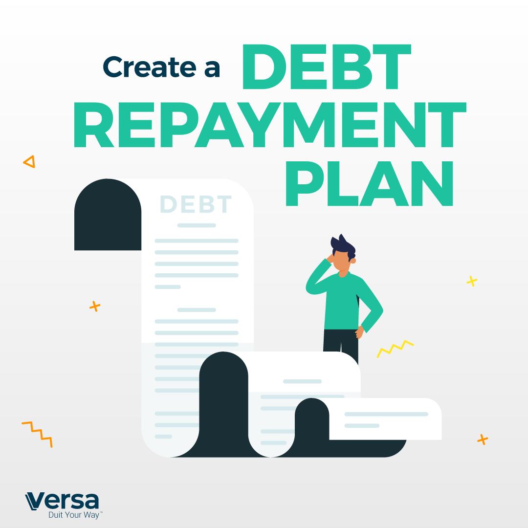 Create a debt repayment plan