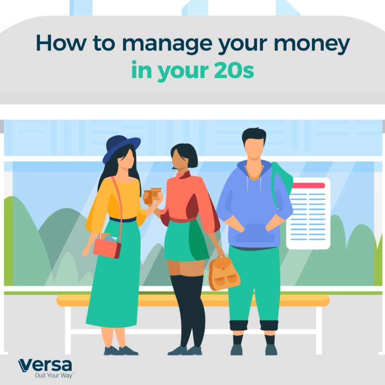 How to manage your money in your 20s